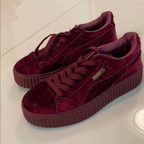Puma Shoes | Puma Fenty Red Velvet